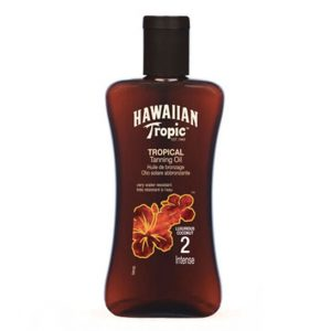 """""""Hawaiian Tropic"""" įdegį skatinantis aliejus su SPF2"""