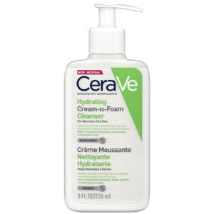 """""""Hydrating Cream to Foam Cleanser"""" drėkinantis veido ir kūno prausiklis (236ml)"""