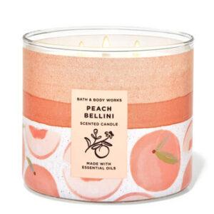 """""""Peach Bellini"""" 3 knatų žvakė"""