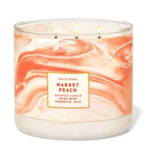 """""""Market Peach"""" 3 knatų žvakė"""