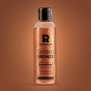 shine bronze aliejus