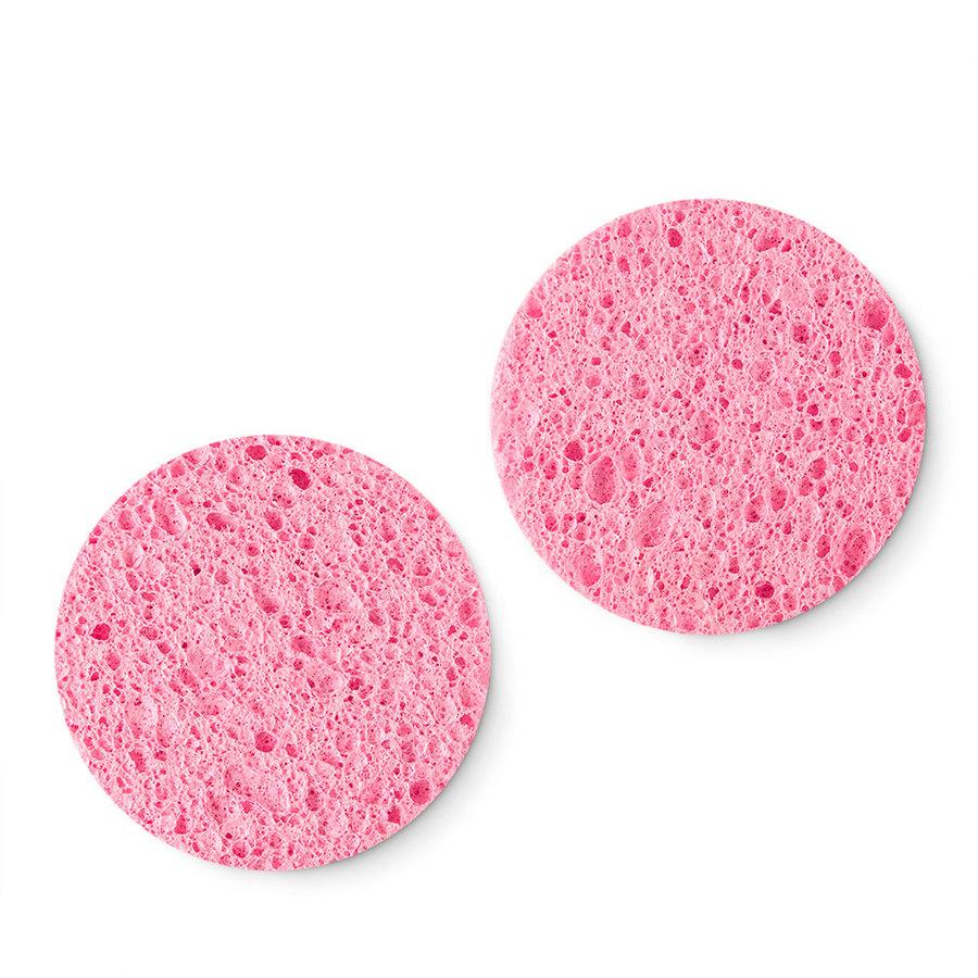 """""""Cleansing Sponges"""" natūralios celiuliozės veido valymo kempinės-1"""